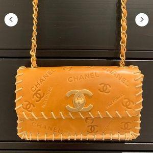 Vintage Chanel Jumbo Flap Jute Rope Bag